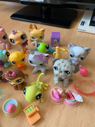 Little Pet Shop animalitos y accesorios