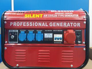 Generador silencioso de 6500watts a estrenar