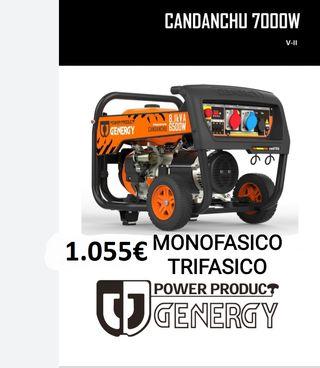 GENERADOR MONOFÁSICO/TRIFÁSICO GENERGY