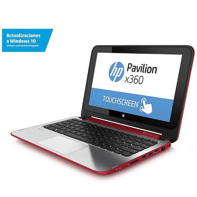 ORDENADOR HP PAVILION TACTIL x360 BEATS ROJO