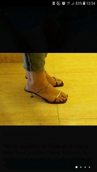 Sandalias de fiesta Nine West