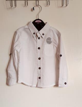 baby boy white shirt