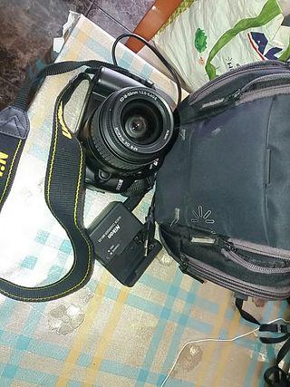 cámara fotos Nikon d3000