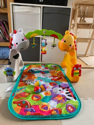 Newborn to toddler play gym by Fisher proce