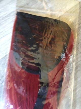 Extensiones 32 pulgadas color rojo caoba pelirrojo