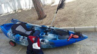 kayak de pesca o de paseo