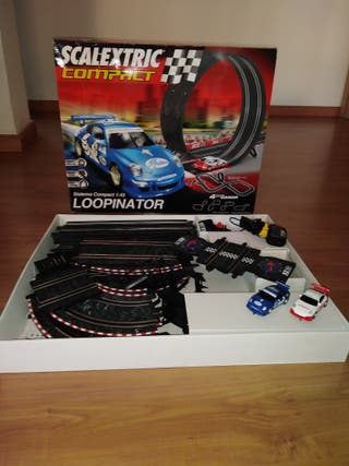SCALEXTRIC COMPACT. SISTEMA COMPAC 1:43 LOOPINATOR