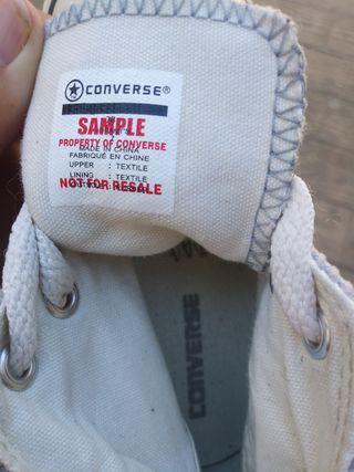 Zapatillas Converse All Star Talla 24 sin uso