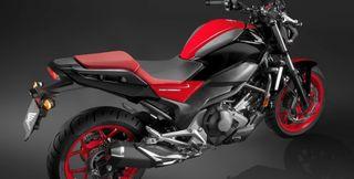 Asiento Honda NC750s rojo