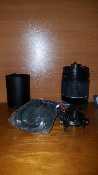 Despiece objetivo Canon 75-300
