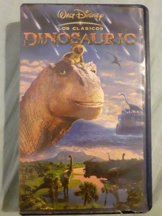Dinosaurio, película de Disney en VHS