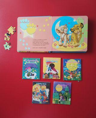 Libro de Puzzles + 5 minicuentos