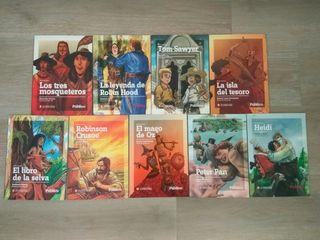 Lote libros de novela juvenil