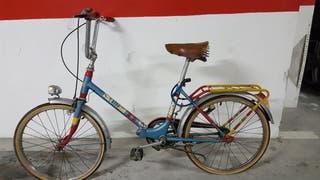 Bicicleta retro plegable