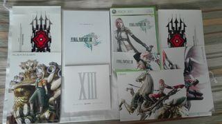 Final Fantasy XIII Edición coleccionista. Completo