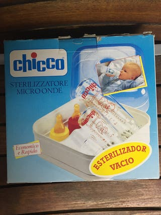 Esterilizador biberones de microondas Chicco.