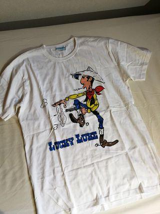 camiseta lucky luke estrenar