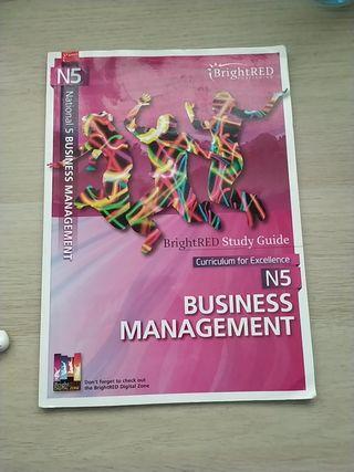 Business management National 5