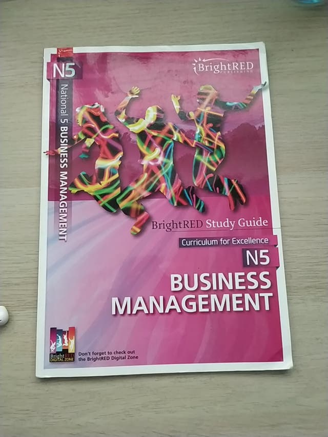 Business management National 5