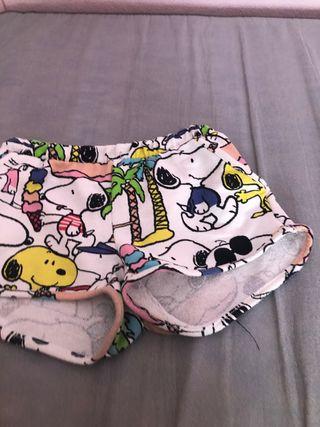 Pantalón de snoopy