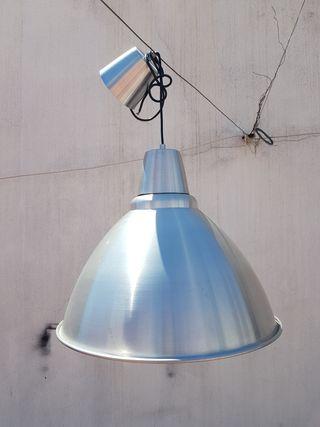 Lámpara aluminio Ikea grande (descatalogada)