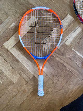 Raqueta de tenis iniciación
