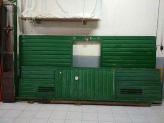 Puerta garaje parking