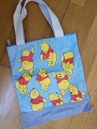 bolso Winnie The Pooh tote bag bolsa mochila chica