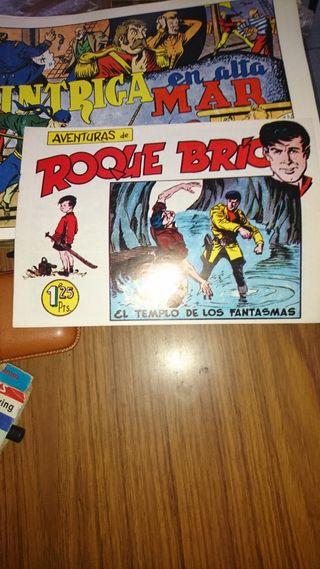AVENTURAS DE ROQUE BRÍO Numero 3, EDICIÓN FACSÍMIL
