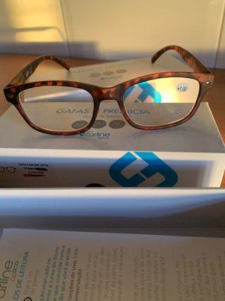 Gafas de presbicia +1