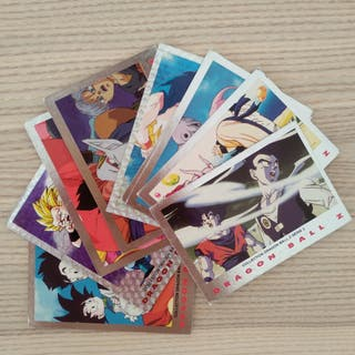 Cartas Dragon Ball Z Serie Plata