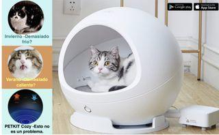 Cama inteligente para gatos o cachorros.