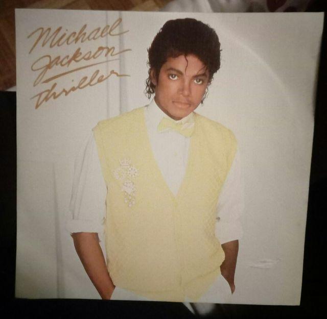 single vinilo Michael Jackson THRILLER 1981