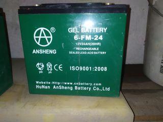 Batería para sillas electricas
