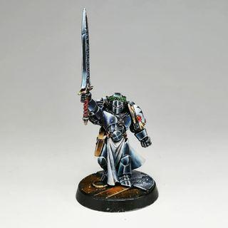 Paladín del emperador pro painted