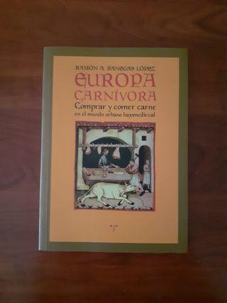 """Libro """"Europa carnívora"""""""