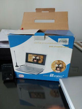 mini tv con tdt y reproductor de dvd