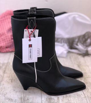Botas Piel Colección SRPLS de Zara