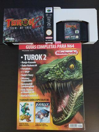 Turok 2 Nintendo 64