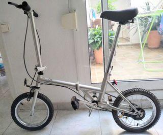 bicicleta plegable nueva a estrenar