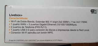 Router Livebox+
