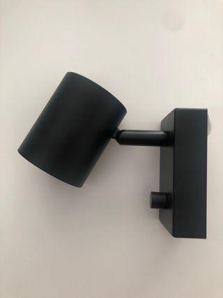 Foco negro Ikea