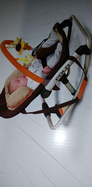 hamaca tumbona bebe