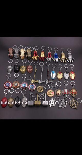 Llaveros de Marvel nuevos