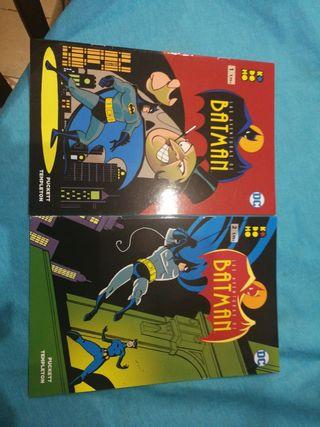 Las aventuras de Batman 1 y 2. cómics ecc