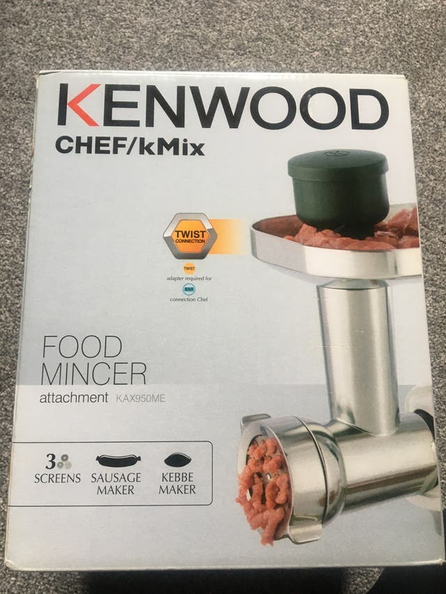 Kenwood food mincer