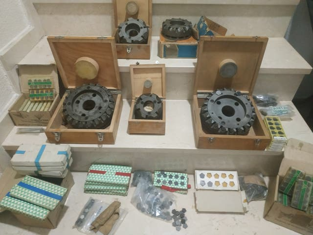 platos planear para fresadora o centro mecanizado