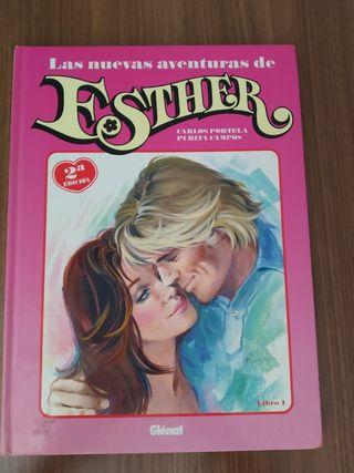 """Cómic """"Las nuevas aventuras de Esther. Libro 1."""""""