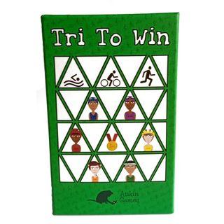 Tri To Win - the triathlon card game - brand new