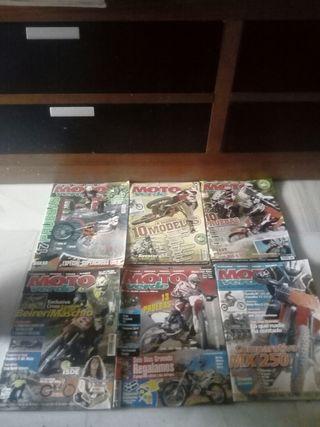 lote revistas moto verde